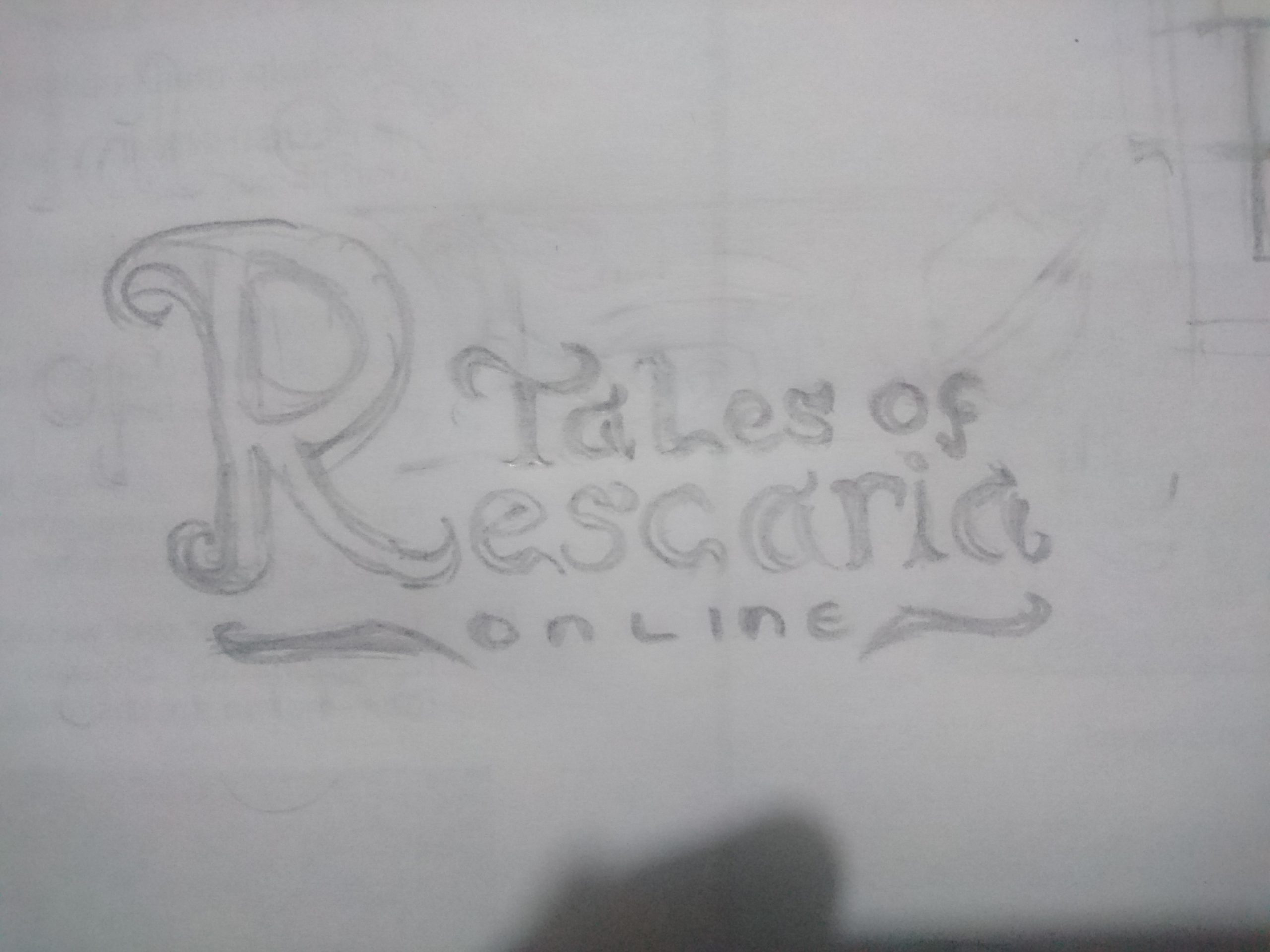 First Sketches of the Logo